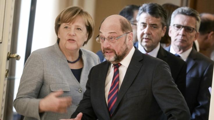 CDU und SPD sind sich einig - doch der Preis ist für beide fast unbezahlbar. (Foto)