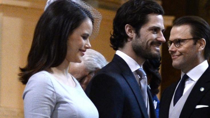 Prinzessin Sofia von Schweden, hier mit ihrem Ehemann Prinz Carl Philip von Schweden, ist bereits zweifache Mutter.