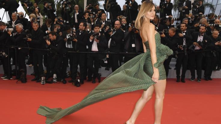 Stefanie Giesinger verzückte zuletzt in Cannes. (Foto)