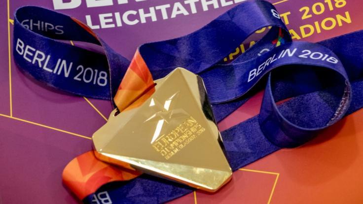 Die Leichtathletik EM in Berlin gehört zur European Championships 2018. Diese Medaillen werden die Gewinner der verschiedenen Disziplinen erhalten.