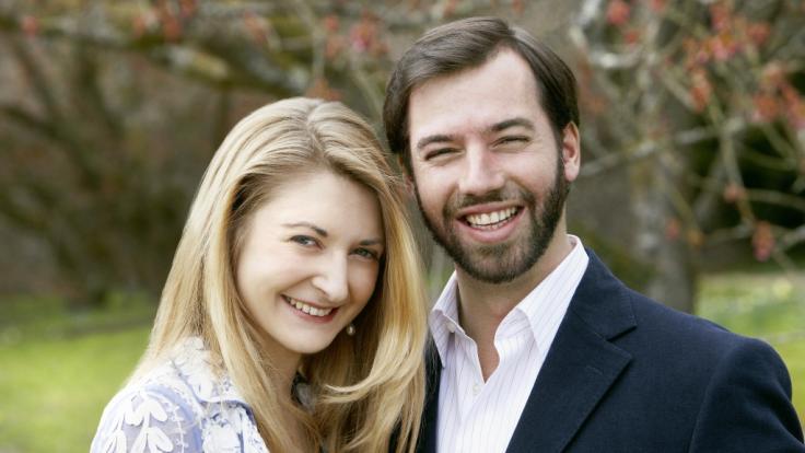 Ein Bild aus dem Jahr 2012 zeigtStéphanie und Guillaume von Luxemburg.