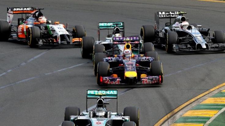 Sie sehen nicht nur anders aus, sie klingen auch anders: die neuen Formel-1-Boliden.