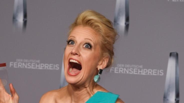 Barbara Schöneberger begeistert ihre Fans mit ihren Hammer-Kurven. (Foto)