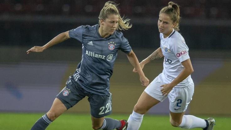Die Damenmannschaft des FC Bayern München ist die letzte noch verbliebene deutsche Mannschaft in der Champions League 2019.