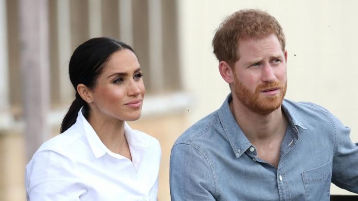 Prinz Harry und Meghan Markle haben sich im Zuge der Coronavirus-Pandemie in ihrem Haus in Kanada eingeigelt. (Foto)
