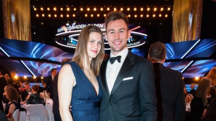 Niklas Kaul mit Freundin Mareike Rösing. (Foto)