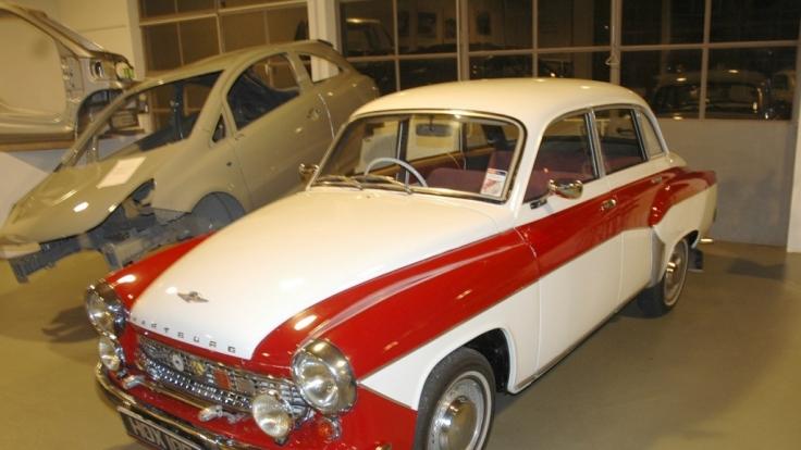 In den 50er Jahren waren die Wartburgs, wie hier das 311er Coupé sowohl technisch als auch äußerlich noch voll auf der Höhe. (Foto)