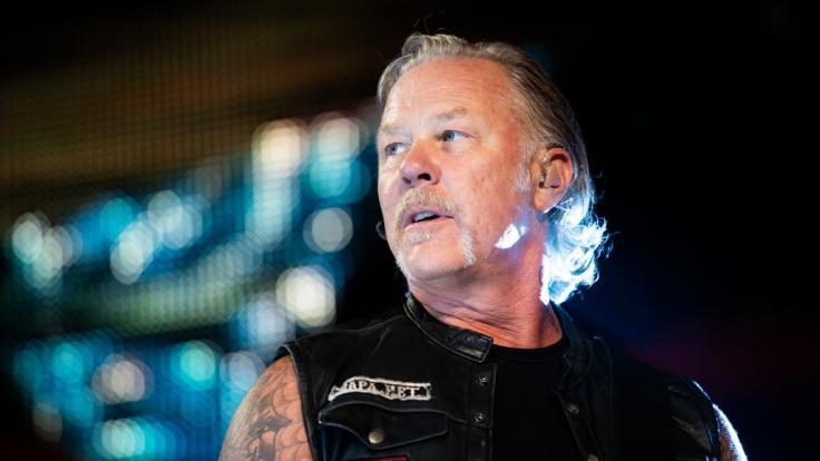 Metallica-Frontmann James Hetfield. (Foto)