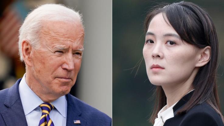 Kim Jong-uns Schwester droht US-Präsident Joe Biden.
