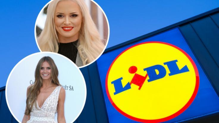 Daniela Katzenberger und Heidi Klum haben eigene Kollektionen für den Discounter Lidl designt.