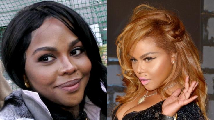 Bei Lil Kim ist der Unterschied kaum zu übersehen: Ihre Haut ist heute deutlich heller als früher.