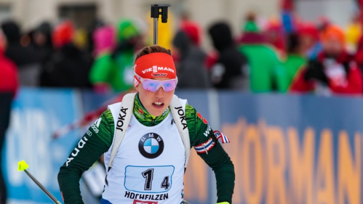 Auch Laura Dahlmeier startet in Oberhof. (Foto)