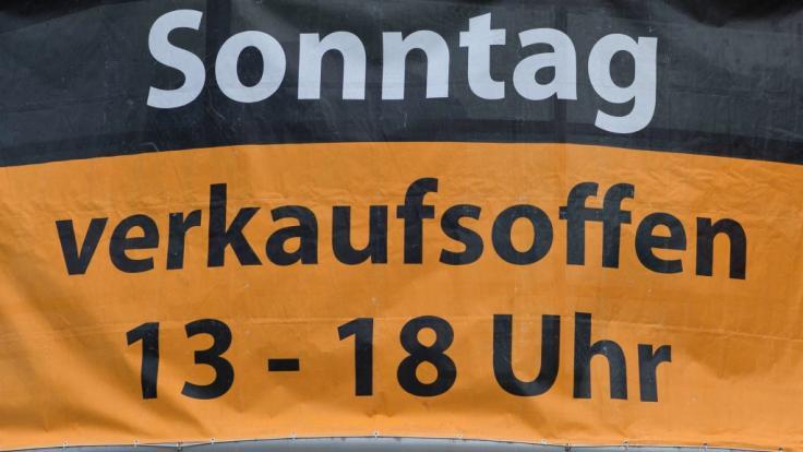 Auch an diesem Sonntag können Sie wieder in zahlreichen deutschen Städten shoppen.