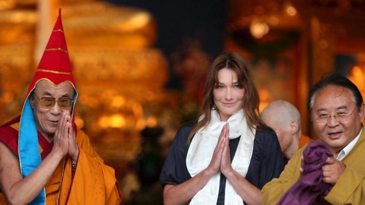 Wer ist hier das Symbol der Weisheit? Dalai Lama. (Foto)