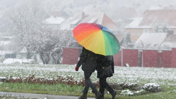 Schnee zu Weihnachten - das sagen die Prognosen (Foto)