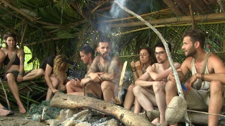 """Die Kandidaten von """"Wild Island"""" wurden auf einer einsamen Insel ausgesetzt. (Foto)"""