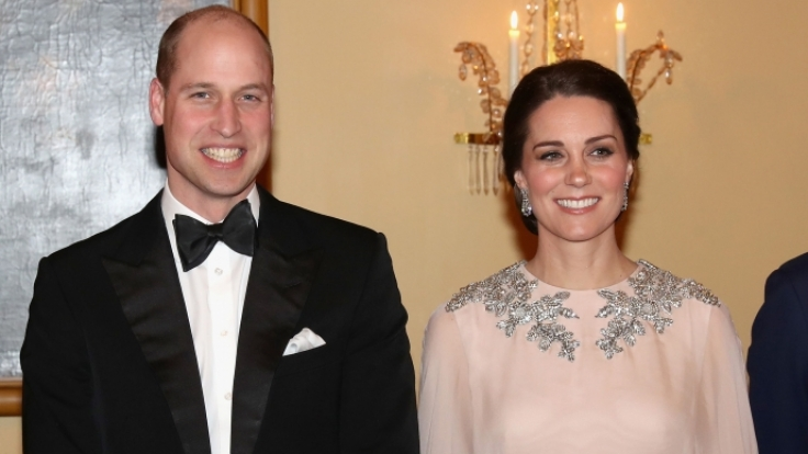 Kate Middleton und Prinz William werden zu waschechten Kino-Stars.