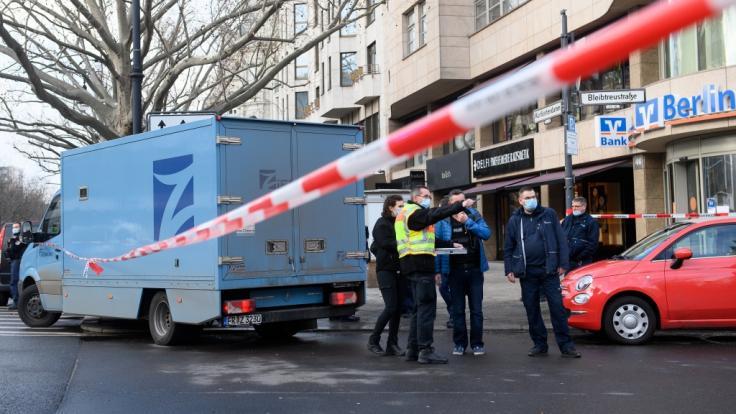Auf dem Berliner Kurfürstendamm ist am Freitagvormittag ein Geldtransporter überfallen worden. (Foto)