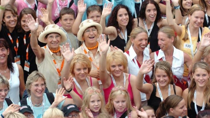 60 Zwillingspaare aller Altersstufen werden beim Treffen in Wittenberg erwartet. (Foto)