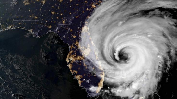 """Wirbelstürme wie Hurrikan """"Dorian"""", der im Sommer 2019 über die Bahamas und die USA fegte, können katastrophale Schäden hinterlassen. (Foto)"""