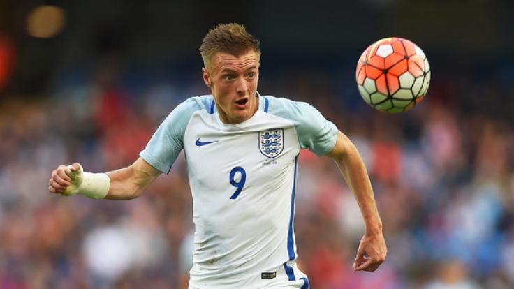England hofft auf Shootingstar Jamie Vardy. (Foto)