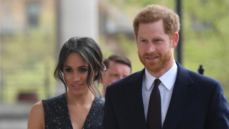 Meghan Markle und Prinz Harry werden im Frühjahr 2019 zum ersten mal Eltern. (Foto)