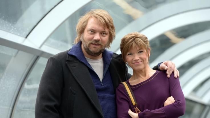 """Charly Hübner und Anke Engelke zum Fototermin von """"Einmal Hallig und zurück"""". (Foto)"""