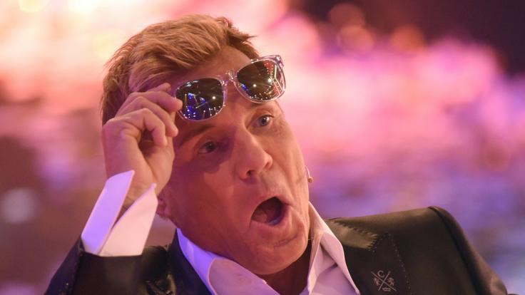 Dieter Bohlen hat seine typische Poptitan-Stimme momentan verloren.