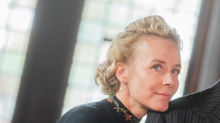 Katja Riemann schockierte mit einem makaberen Vergleich. (Foto)