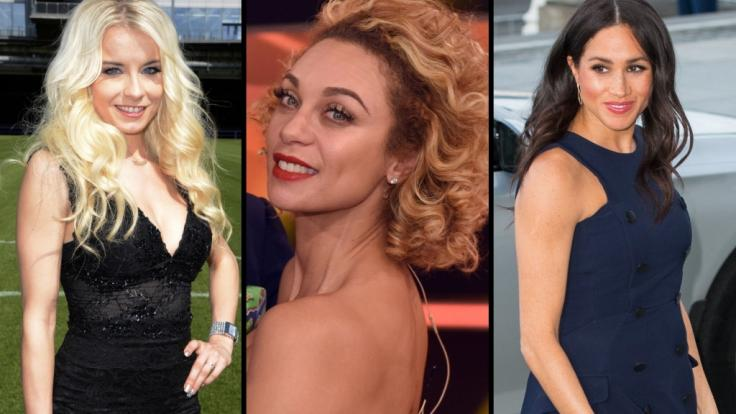 Mia Julia Brückner, Lilly Becker und Meghan Markle gehörten zu den weiblichen Promis, die zuletzt mit sexy Einblicken für Furore sorgten. (Foto)