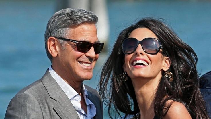 George und Amal Clooney haben im Juni Zwillinge bekommen.