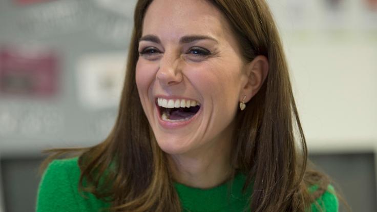Kate Middleton sprach bei einem öffentlichen Auftritt über ihre geheime Liebe. (Foto)