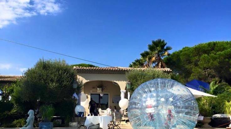 Die Villa Geissini in St. Tropez ist ein guter Ort für heiße Partys.
