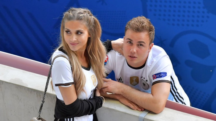 Ann-Kathrin Brömmel und ihr Freund Mario Götze.