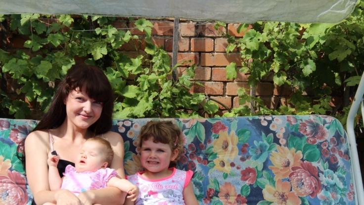 Ihre beiden Töchter liebt Diana M. über alles.