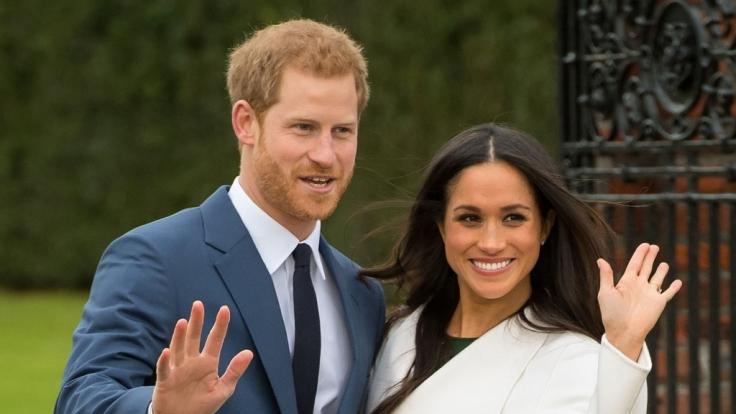 Prinz Harry und Meghan Markle werden am 19. Mai 2018 den Bund fürs Leben schließen.