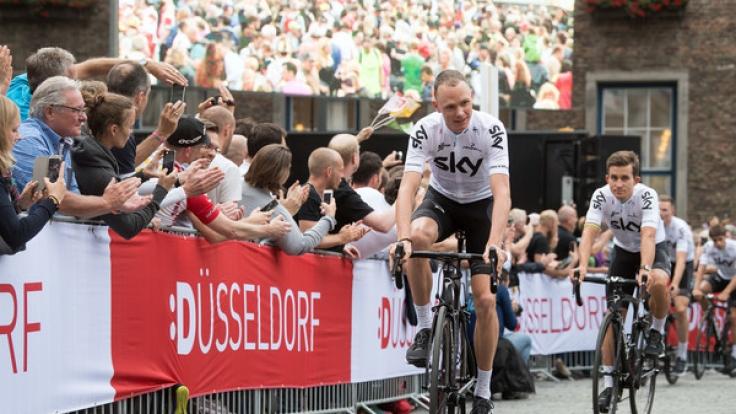 Im Juli findet die bisher 104. Tour de France statt.