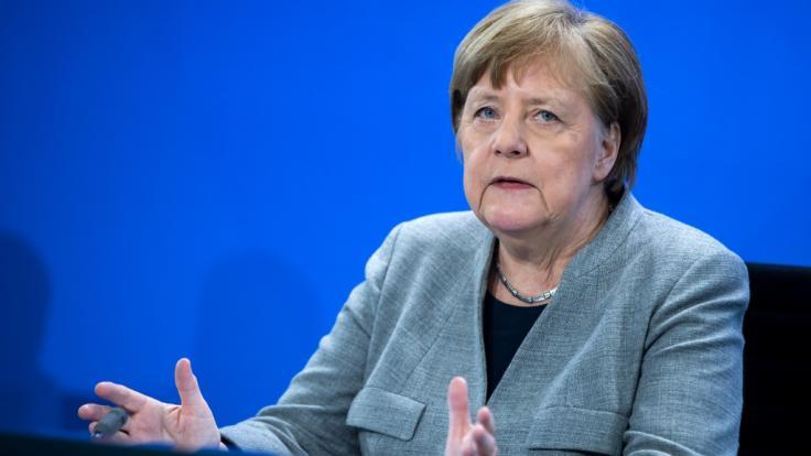 Bundeskanzlerin Angela Merkel hat sich am 20. April nach der Sitzung des Corona-Kabinetts geäußert.