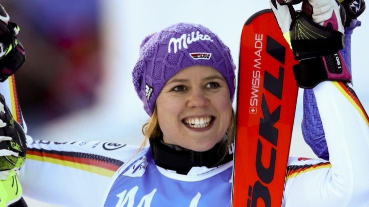 Für Viktoria Rebensburg hat es bei Olympia 2018 nicht zu einer Medaille im Riesenslalom gereicht. (Foto)