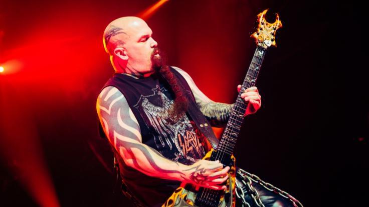 Kerry King geht ein letztes Mal mit Slayer auf Tour. (Foto)