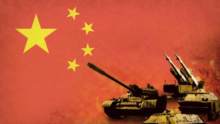 China könnte einen Krieg entfachen. (Foto)