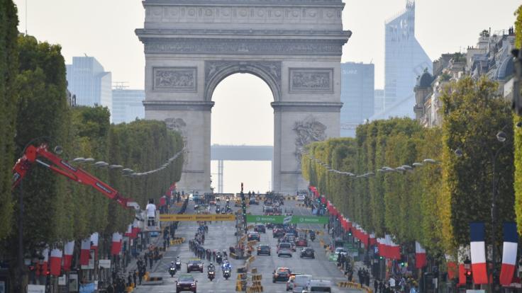 Die Tour de France endet traditionell in der französischen Hauptstadt Paris. (Foto)