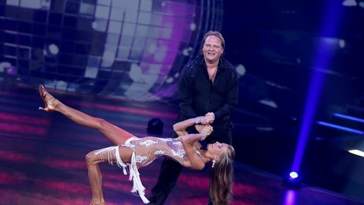 """Björn Freitag und seine Frau Anna bei der ersten """"Stepping Out""""-Show. (Foto)"""
