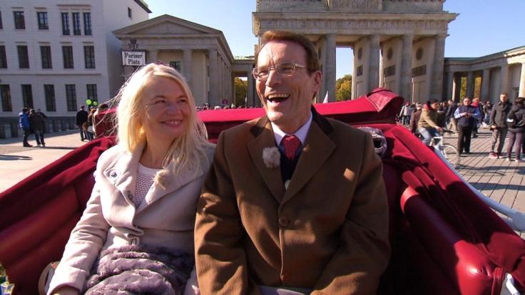 Walther zeigt seinem Date Marta die Hauptstadt von Deutschland. (Foto)