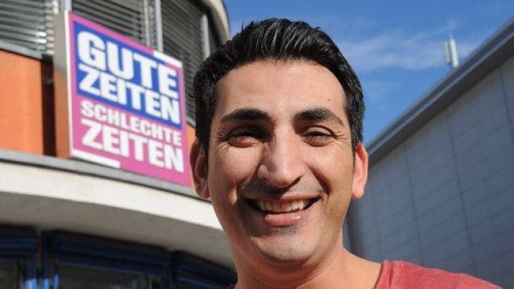 """Rund fünf Jahre lang spielte Mustafa Alin die Rolle des """"Mesut Yildiz"""" in der RTL-Soap """"Gute Zeiten, schlechte Zeiten. (Foto)"""
