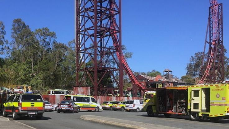Nach dem tragischen Unglück im Freizeitpark Dreamworld in Australien, bei dem vier Menschen in einer Wildwasserbahn ums Leben kamen, soll das Fahrgeschäft abgerissen werden.