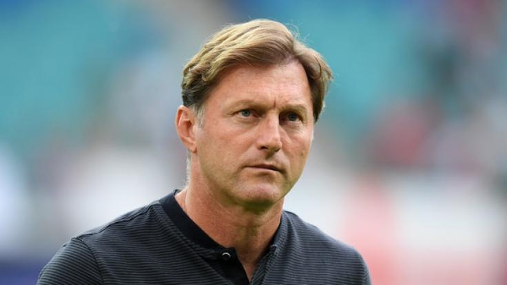 RB-Leipzig-Trainer Hasenhüttl sieht seine Mannschaft nicht in der Favoritenrolle gegen Hamburg.