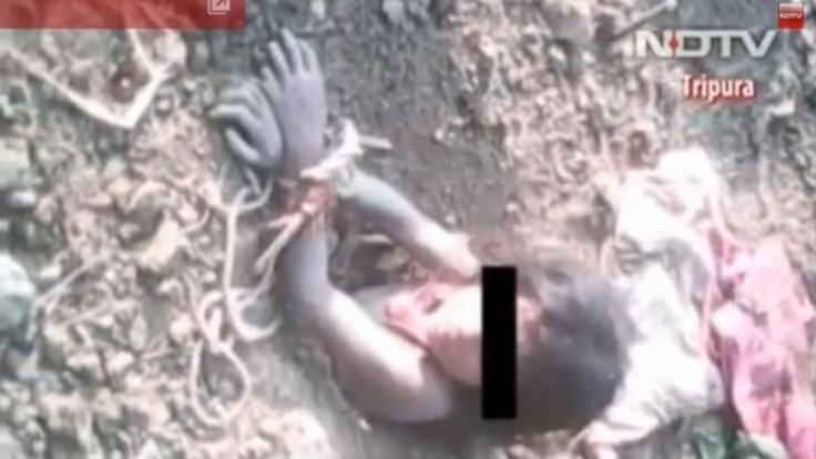 Ihr Vater wollte die neunjährige Rukshena lebendig begraben. (Foto)
