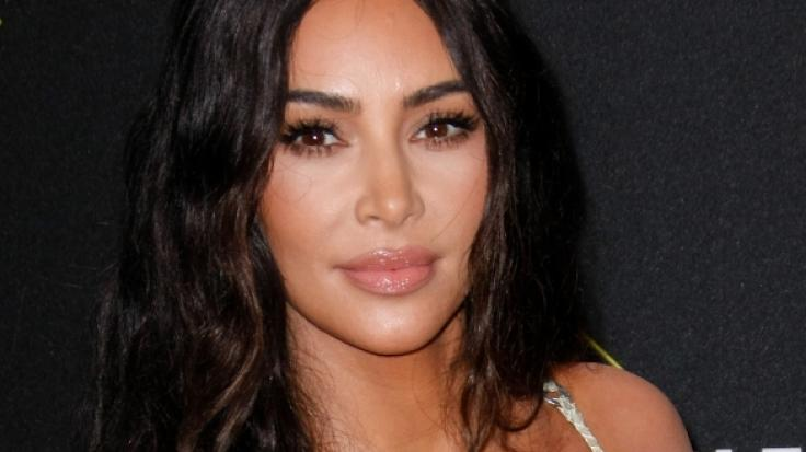 Kim Kardashian schockt ihre Fans im Sadomaso-Look. (Foto)