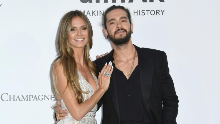 Heidi Klum und ihr Freund Tom Kaulitz sind auch bei